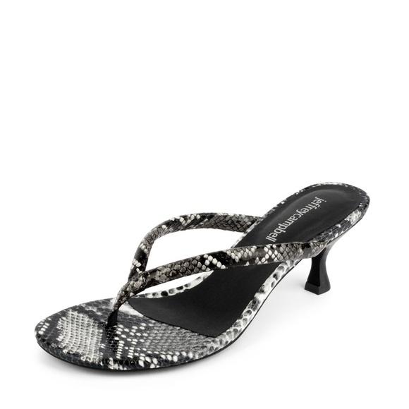 94fe1afbd2 Jeffrey Campbell Shoes | Sale Brink Kitten Heel Flip Flops | Poshmark